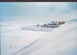 Greenland PPC Hotel Grønland Skibshavnen I Godthåb GODTHÅB Nûk 1977 SØNDERBORG Denmark Cz. Slania (2 Scans) - Grönland