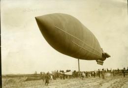 France Pionnier De L'Aviation Ballon Ville De Paris à Sartrouville Ancienne Photo Branger 1904 - Aviation