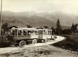 Allemagne Camion Daimler Transport De Passagers Ancienne Photo 1908