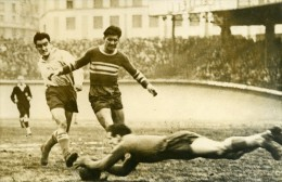 France Football Parc Des Princes Match Racing 4 Cannes 0 Ancienne Photo 1947 - Sports