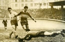 France Football Parc Des Princes Match Racing 4 Cannes 0 Ancienne Photo 1947