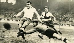 France Football Parc Des Princes Match Racing 6 Montpellier 1 Ancienne Photo 1947