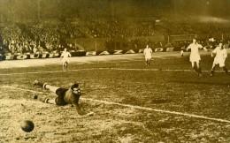 France Parc Des Princes Football Match Strasbourg 5 Red Star 0 Ancienne Photo 1947