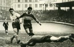 France Parc Des Princes Football Match Racing 4 Cannes 0 Ancienne Photo 1947