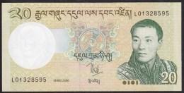 Bhutan 20 Ngultrum 2006 P30a UNC - Bhoutan
