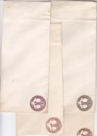 Etats Unis, Entier Postal, Lot De Quatre  Enveloppes - ...-1900