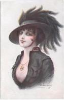 MILITAIRE - Croix De Guerre Des Alliés - Fantaisies Trichromes - A. Noyer - Série 33 - 164 - Femme - Personnages