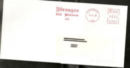 """Lettre  De  """"  Perouges   ( 01 )   Daté  14 - 11 - 2000   De  Meximieux  ( 01 )   Sur  Imprimé - Storia Postale"""