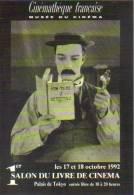 """Carte Postale """"Cart'Com"""" - Série Spectacle, Film - Buster Keaton (Sherlock Junior 1924) Cinémathèque Française (cinéma) - Acteurs"""