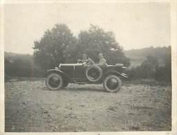 Réf : D-15 4009 : Photographie 10.5 X 8 Cm  AUTOMOBILE LE TUQUET DORDOGNE ? AOUT 1924 CABRIOLET CITROËN 5CV ANNEE 20 - Automobiles