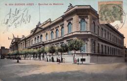 BUENOS AIRES - Facultad De Medicina, Karte Gel.1919 V.Avenida De Mayo B.Aires Nach France - Argentinien