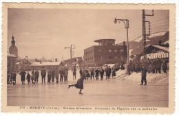 279.   -   MEGEVE  (1113 M.)  -  Station  Hivernale  -  Concours  De  Figures  Sur  La  Patinoire - Megève