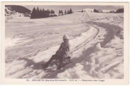 49.   -   MEGEVE  (Station  Hivernale  -  1113 M.)   -  Descente  Sur  Luge - Megève