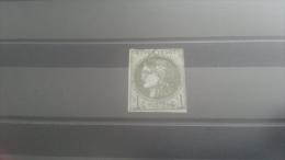 LOT 269137 TIMBRE DE FRANCE OBLITERE N�39B VALEUR 200 EUROS