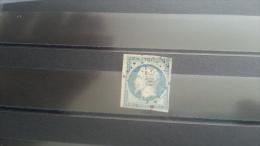 LOT 269160 TIMBRE DE FRANCE OBLITERE N�15 VALEUR 285 EUROS