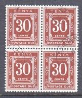 KENYA  J4 X 4  (o) - Kenya (1963-...)
