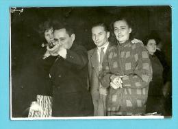 PHOTO-TIR PHOTOGRAPHIQUE-SHOOTING STAND GUN-KERMESSE-TIR FORAIN-PHOTO ORIGINAL!!! Schiettent 1957 - Photos