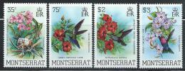 "Monserrat       ""Flowers & Birds""      Set     SC#  497-00   MNH** - Montserrat"