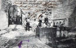 58Bc  83 Les Arcs Place De L'horloge Lavandieres Au Lavoir - Les Arcs