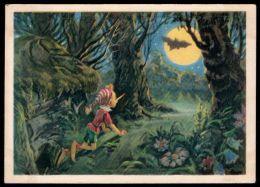 Russia USSR Pc The Adventures Of Pinocchio, Pinocchio And The Bat - Fiabe, Racconti Popolari & Leggende