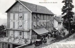 58Bc  06 Peira Cava Grand Hotel Faraut Ouverture Le 15 Avril - Francia
