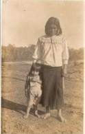 "PER�-LIMA ""INDIA PERUANA CON HIJO"" EDITOR DYOTT &Co LIMA E. POLACK-SCHNEIDER CIRCA 1920 NEUVE NO CIRCULADA RARE! GECKO"