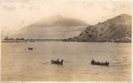 "PER�-LIMA ""CANOAS EN LAGUNA PERDIDA"" EDITOR DYOTT &Co LIMA E. POLACK-SCHNEIDER CIRCA 1920 NEUVE NO CIRCULADA RARE! GECKO"