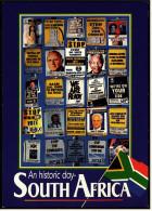 South Africa  -  An Historic Day  -  Ansichtskarte Ca. 1994    (4931) - Südafrika