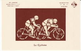Le Cyclisme, Bicycle Race Cycling Racing, Glow In The Dark Images, C1920s/60s Vintage Postcard - Cycling