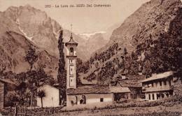 """02060  """"(TORINO) 260 LA LERA M. 3335 DAL CORTEVICIO"""" AL VERSO CACAO TALMONE E CLUB ALPINO ITAL..  CART. POST.  NON SPED. - Italy"""