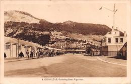 "02063  ""GIBRALTAR - ARRIVING FROM ALGECIRAS"" L. ROISING FOTOGRAFO. ANIMATA.CART. POST.  SPED. 1933 - Gibilterra"