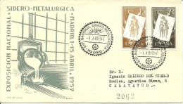 MAT.ESPAÑA 1957 - Fábricas Y Industrias