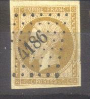 PC  4186    SERBONNES    (   83  -  YONNE   )  SUR  13 - Marcophilie (Timbres Détachés)