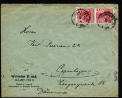 A3258) DR Brief Von Hamburg 11.12.1914 Nach Copenhagen Mit Militärzensur Hamburg - Deutschland