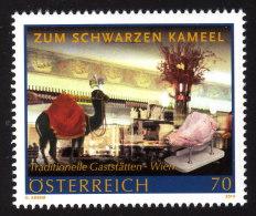 ÖSTERREICH 2014 ** Zum Schwarzen Kameel In Wien / Traditionelle Gaststätten - MNH - Hotel- & Gaststättengewerbe
