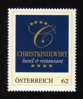ÖSTERREICH 2013 ** Hotel & Restaurant / Christkindlwirt In Steyr - PM Personalized Stamp MNH - Hotel- & Gaststättengewerbe