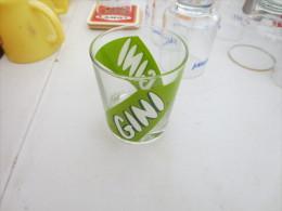 Verre Publicitaire Gini - Bicchieri