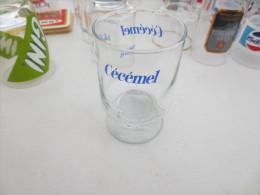 Verre Publicitaire Cecemel - Glazen