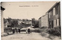 S1549 @ 51 @ VIENNE LE CHATEAU @ BELLE CPA : RUE DES PONTS @ A VOIR - France