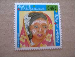 MAYOTTE    P 142 * *  MASQUE DE FETE - Neufs
