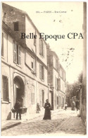 75 - PARIS 18 - Rue Cortot +++ B X F, Paris, #103 +++ Vers Caen, 1910 ++++ RARE - Arrondissement: 18