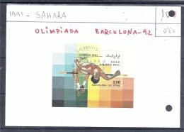 150021793   SAHARA OCC  YVERT  Nº - Viñetas De Fantasía