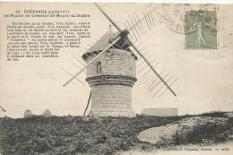 Cp , 44 , GUERANDE , Le Moulin De CREMEUR Dit Moulin Du DIABLE , Voyagée - Guérande
