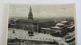 AK Kopenhagen(Kobenhavn) Mit Christiansborg Slot.vom 13.8.1932 Nach Görlitz (ehem. Schlesien) - Dänemark