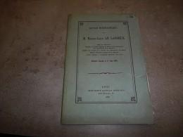 @ Mayenne, L'Huisserie Notice Biographique Sur M Ernest-Louis LE LASSEUX 1878 Edition Originale Pas Le Reprint ! - Pays De Loire