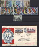 San Marino 1958 Annata Completa / Complete Year O/Used VF/F - Saint-Marin