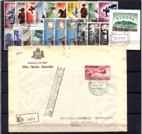 San Marino 1961 Annata Completa / Complete Year O/Used VF/F - Saint-Marin