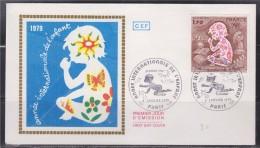 = Année Internationale De L'Enfant Enveloppe 1er Jour Paris 6.1.79 N° 2028 - 1970-1979