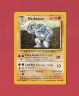 *  Carte Pokémon 1995..Machopeur  : Poing Karaté  -  Sacrifice..80 PV..34 / 102  :  Voir Les 2 Scans - Pokemon