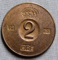 SWEDEN 1968U - 2 ORE - Sweden